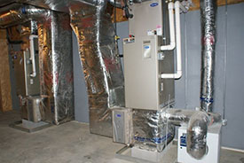 forced hot air furnace repairs in woodside ny